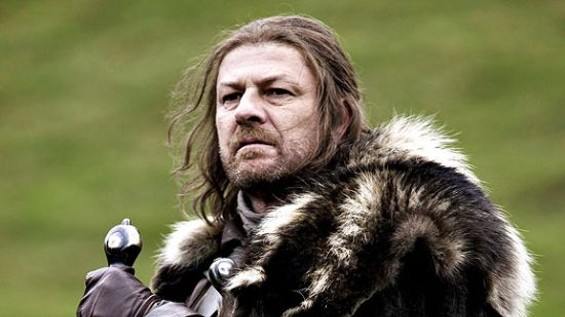 Sean Bean as Lord Eddard Stark in A Game of Thrones