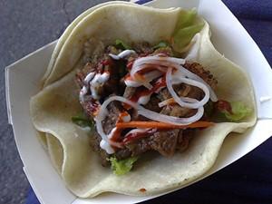 Seoul on Wheels will serve Korean tacos near SFMOMA this weekend. - T. PALMER