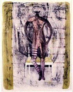 Sexy Lady: Rufino Tamayo's Femme aux - Bas Mauves (Woman With Mauve - Stockings).