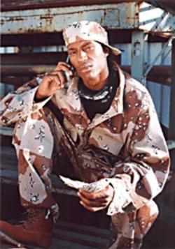 S.F. rapper JT the Bigga Figga in '93