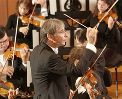 S.F. Symphony's Michael Tilson Thomas conducts Copland's works this month.