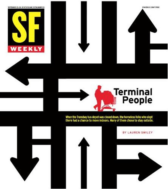 SF Weekly art director Andrew Nilsen and Brian Stauffer collaborated on this award-winning cover.