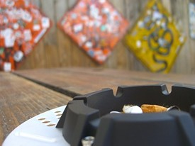 S.F.'s newly extended smoking ban could radically alter patio bars that serve food. - NICOLE N./YELP
