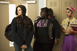 Shailene Woodley, Gabourey Sidibe, and Mark Indelicato look back to a certain decade.