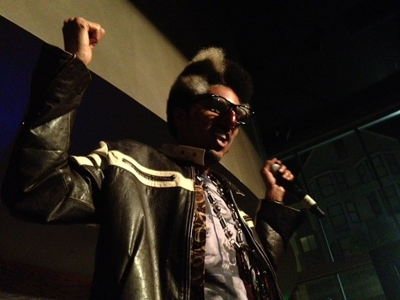 Shock G of Digital Underground performs at Yoshi's. - TAMARA PALMER