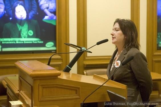 Shona Gochenaur may be back at City Hall -- dispensing pot - LUKE THOMAS, FOG CITY JOURNAL