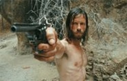 KERRY  BROWN - Shoot First, Dress Later: Guy Pearce as Charlie Burns.