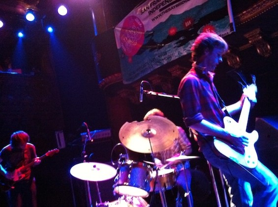 Sic Alps at Great American Music Hall last night.
