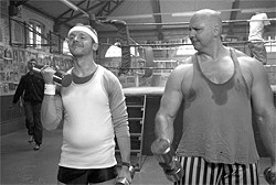 PICTUREHOUSE - Simon Pegg (left) plays an average guy who's been psyched out by standards of perfection.