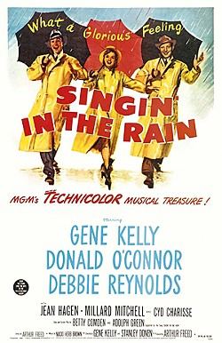 Singin' in the Rain shows on December 26 at the Castro Theatre.