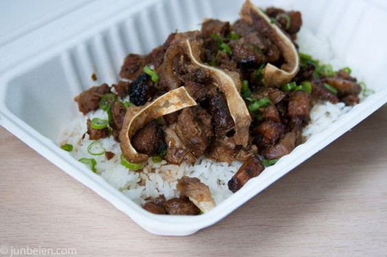 Sisig from Hapa SF: Subtle fusion, maybe, but fusion all the same. - JUN BELEN