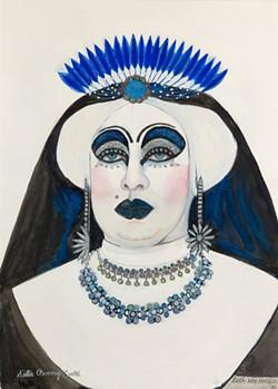 COURTESY OF GEORGE KREVSKY GALLERY - Sister Penny Costal, 1996