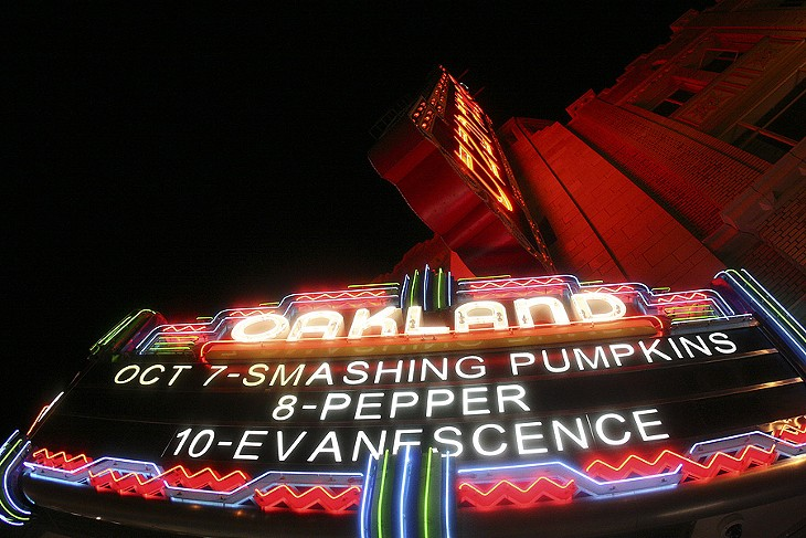 Smashing Pumpkins at the Fox Theater