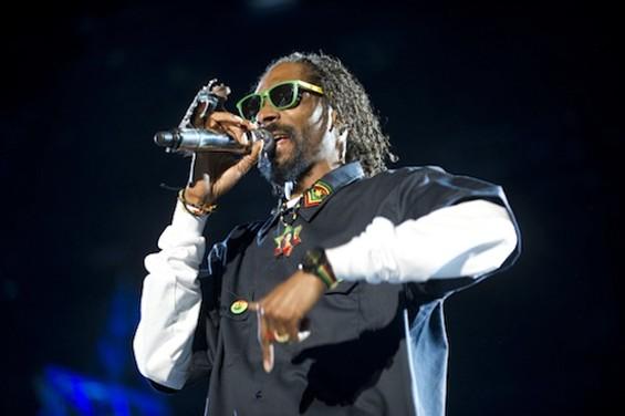 Snoop then-Dogg at Coachella