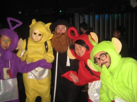 So a priest, a rabbi and a teletubby walk into a bar...