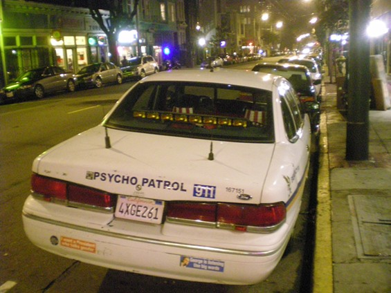 So, are you patrolling for psychos or are you the psycho?