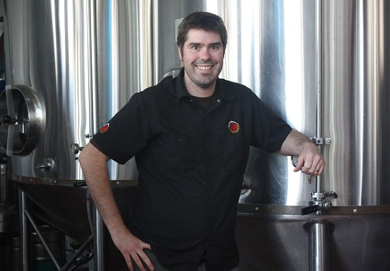 Social Kitchen's brewmaster Rich Higgins is aiming for supple, food-friendly beers. - BRIAN YAEGER