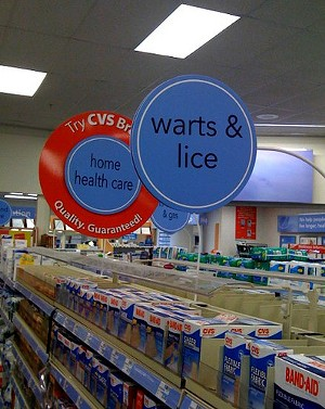 Solve all your Spring Break problems on this aisle - FLICKR/PURPLETWINKIE