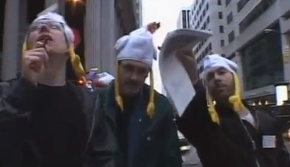 Some 2011 treasure hunters with awesome hats. - YOUTUBE