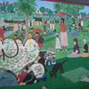 Guerrero Market Owner Truly Pissed Off at Vandal Who Defaced Seurat-Inspired Mural