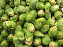 Someone should be hanging a Brussels Sprout Queen banner over the Bay Bridge.