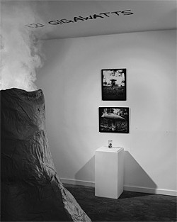 CHRIS FITZPATRICK - Sometimes a volcano is more than enough.