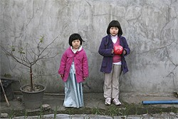 """Song-hee Kim and Hee-yeon Kim play sisters who are left in the care of an alcoholic """"aunt."""""""