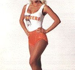Sources say Hooters is like a PG-rated, hetero-male - cheerleader fantasy.