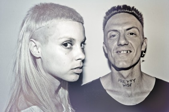 South African rap group Die Antwoord is playing Noise Pop's 20th Anniversary.