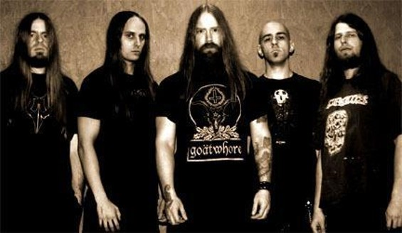 South Carolina death metallurgists Lecherous Nocturne play Wednesday at the DNA Lounge