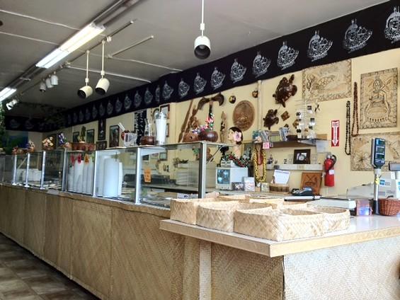 South Pacific Island Restaurant. - TAMARA PALMER