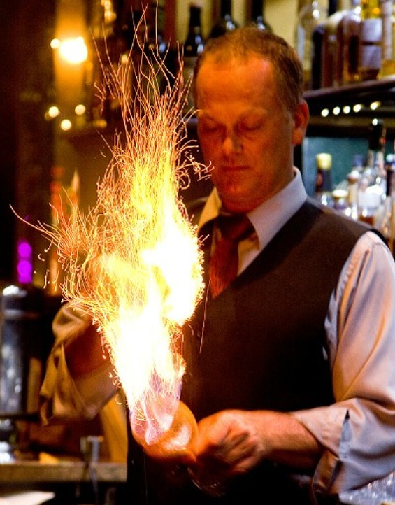 Spanish Coffee is always a hit at Absinthe. - THE DAPPER DINER