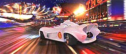 Speed Racer is what you could call Power Kitsch or Neo-Jetsonism.