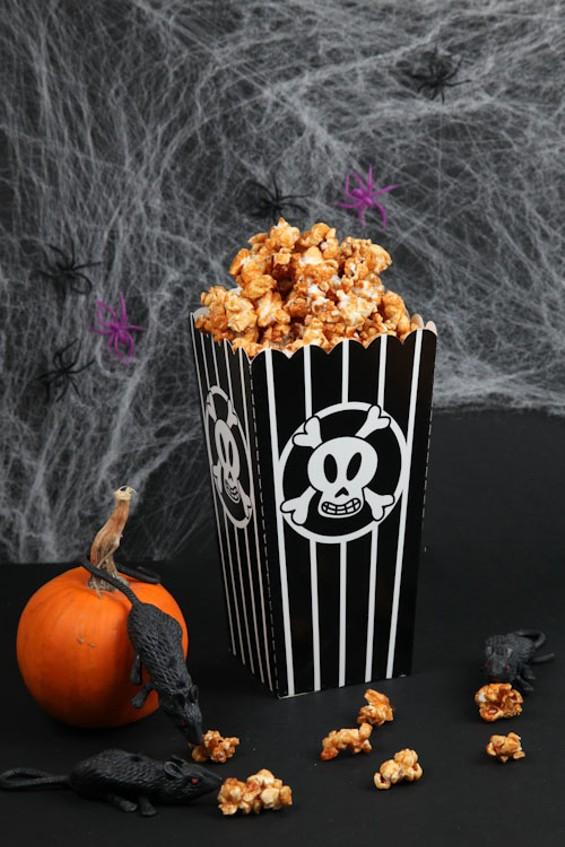 Spooky popcorn! - A.J. BATES