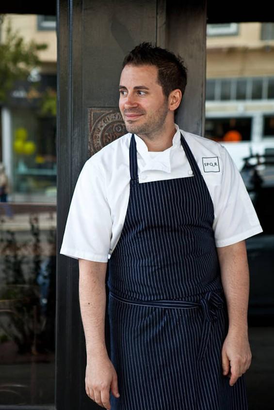 SPQR's chef, Matthew Accarrino. - ALANNA HALE