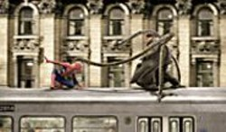 """MELISSA  MOSELEY - Squash It: Spidey battles Doc Ock and his - """"smart arms."""""""
