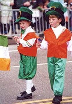 SEAN  MORIARTY - St. Patrick's Day Parade.
