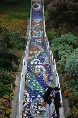 Stairway to heaven? More like Twin Peaks. - JUAN DE ANDA/ SF WEEKLY