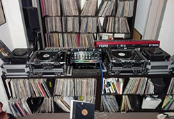 COURTESY OF DEREK OPPERMAN - Standard Club DJ