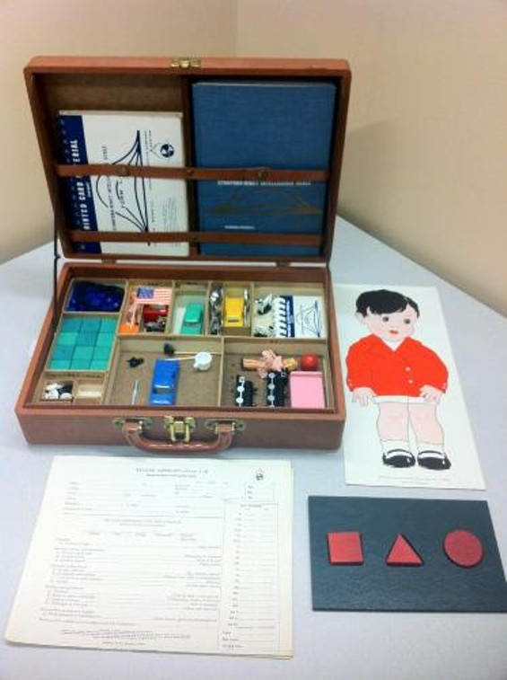 Stanford-Binet Intelligence Scale Test kit - STANFORD UNIVERSITY LIBRARY
