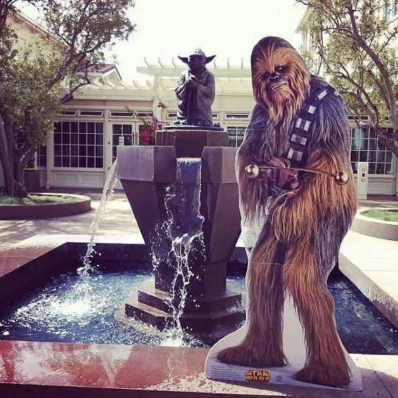 Star Wars Reunion! - @CHEWBACCASF