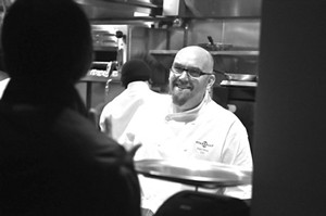 Starbelly executive chef Adam Timney. - STEFANO BINI
