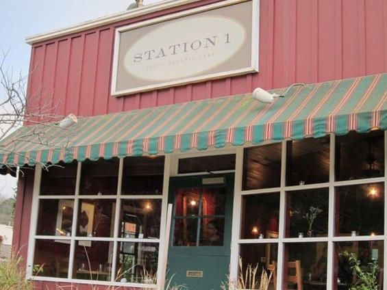 Station 1 has changed its menu format from prix fixe to a la carte. - YELP/JM G.