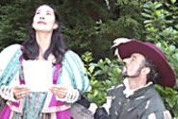 Steeped in good old-fashioned - Romanticism, Shotgun Players' - Cyrano is fast-paced and - understated.