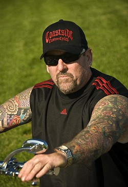 Steve Mahoney has Niners fandom in his blood (as well as ink) - TOM TRACY