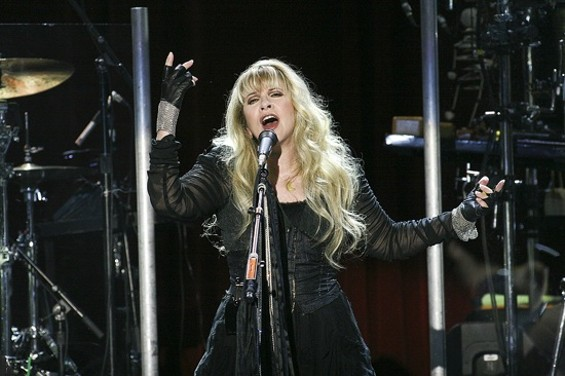 Stevie Nicks at the Fillmore on Saturday night. - CHRISTOPHER VICTORIO