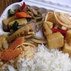What to Have for Lunch Today: Takeaway Rice Plate from Ozone Thai