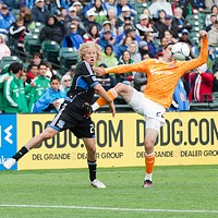 St.Patty's Soccer Doubleheader @ AT&T Park