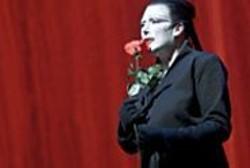 BRINKHOFF/MÖGENBURG - Straight Shooter: Marianne Faithfull - as the - diabolical Black Rider, Pegleg.