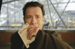 MERRICK  MORTON - Stranded: Viktor Navorski (Tom Hanks) discovers that - his home country is no more.